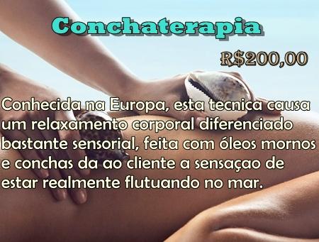 Novidade Conchaterapia