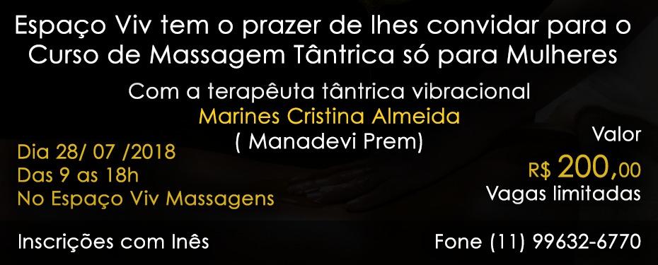 Curso de Massagem Tântrica - São Paulo